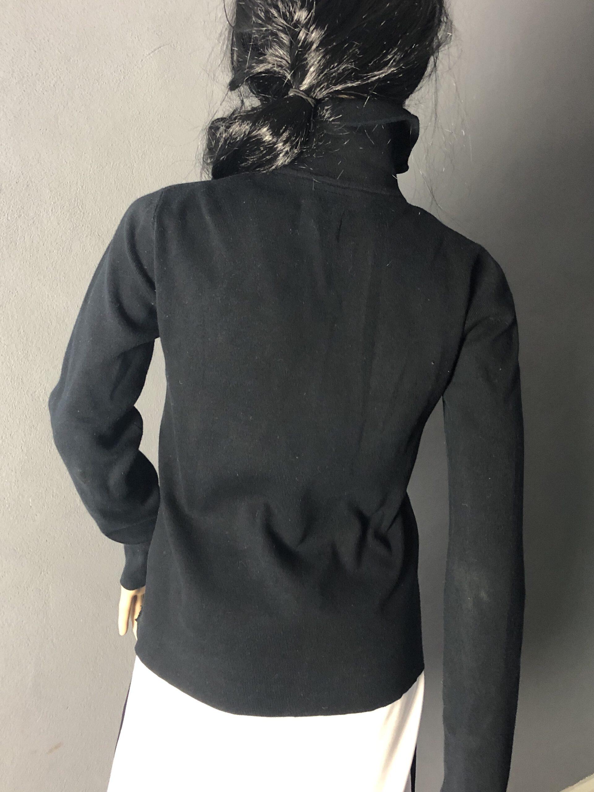 Rückenansicht Baumwolljacke